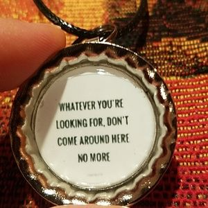 New tom petty necklace